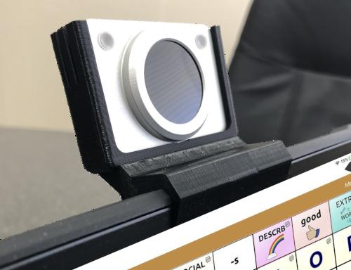 HeadMouse Nano avec Ipad 7 dans Unicorn Beetle Supcase